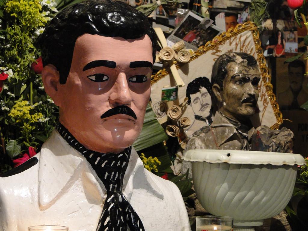 Хесус Мальверде - покровитель мексиканских наркодельцов