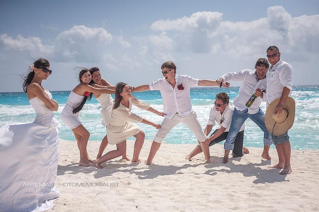 Фотосессии в Мексике. Свадебные фотосессии.