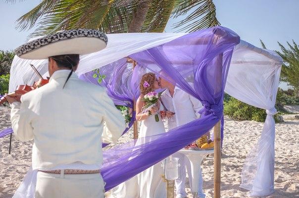 Заказать свадьбу недорого в Мексике