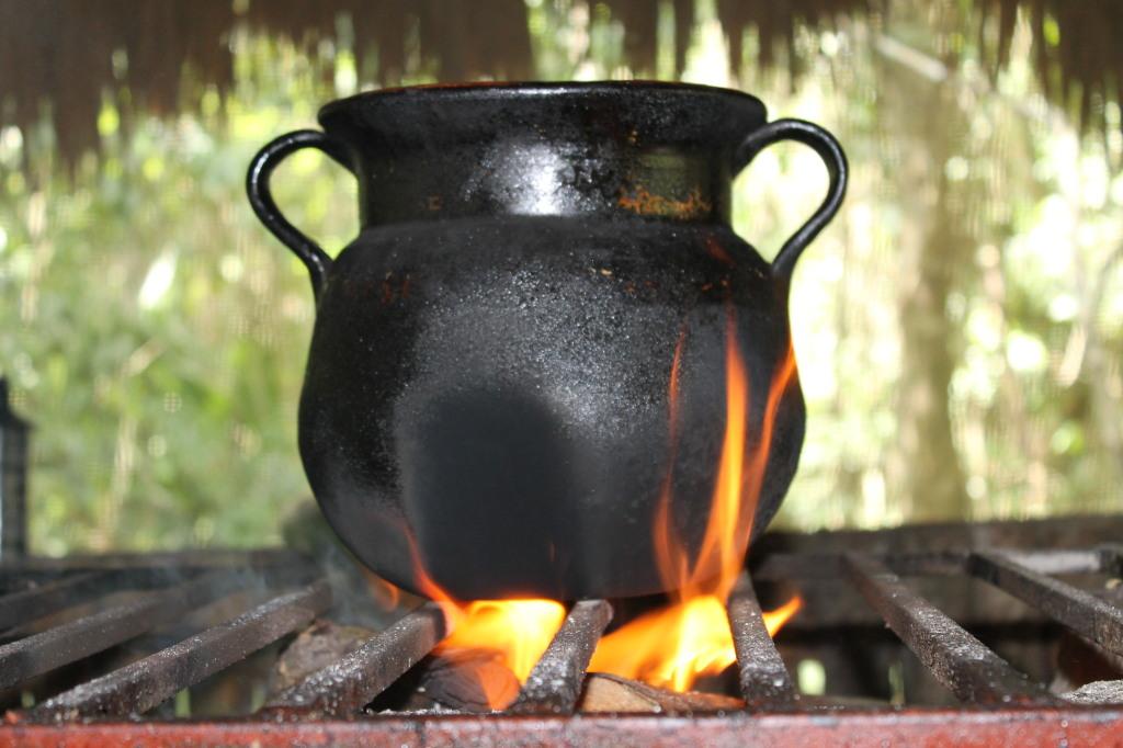 Обед на углях