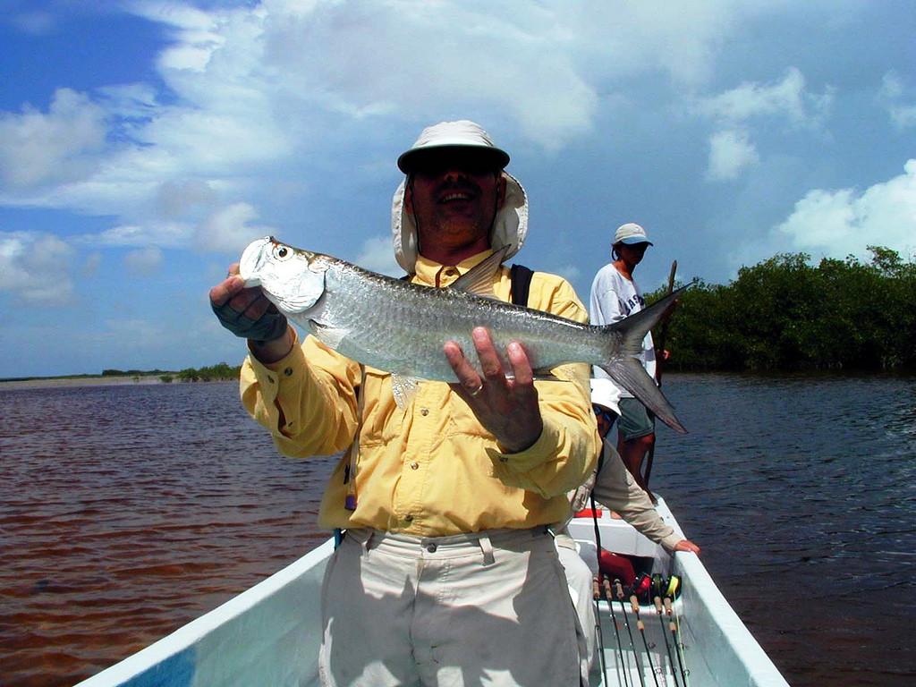 Рыбаки в Сиан Каане