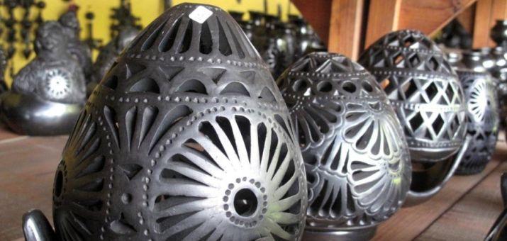 Керамические изделия Барро Негро. Пуэбла. Мексика