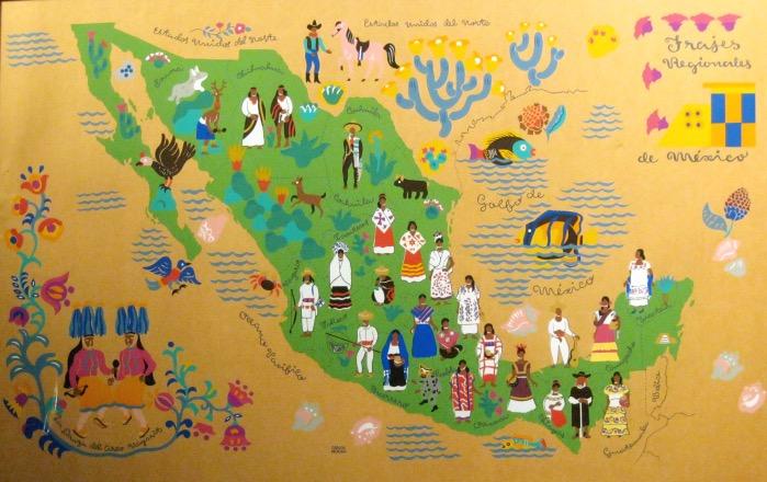 Культура и традиции Мексики на карте