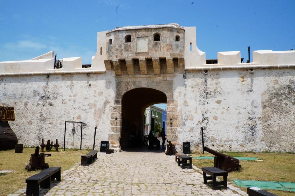 Пуэрта дель Тьерра. Кампече. Мексика