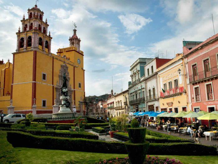 Достопримечательности города Гуанахуато