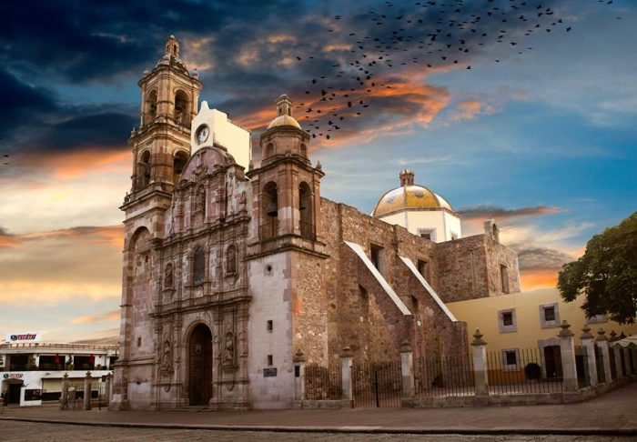 Достопримечательности города Аквакальентес