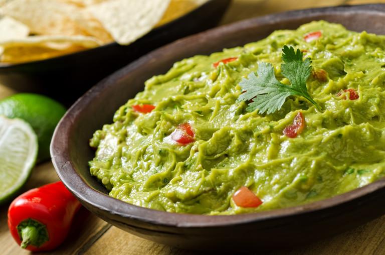 Гуакамоле. Блюдо Мексиканской кухни
