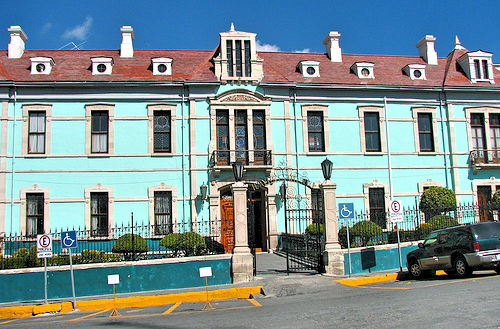 Особняк Каса Руле в Идальго. Пачука де Сото. Прогулки по городам Мексики