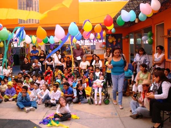Празднование дня детей в Мексике