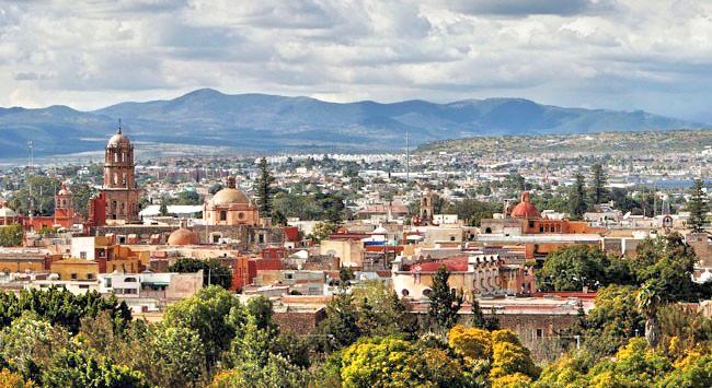 Сантьяго де Керетаро. Столица штата Керетаро. Мексика