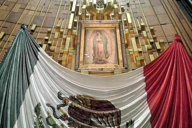 Святой образ Девы Марии Гуаделупской явившейся крестьянину Хуан Диего