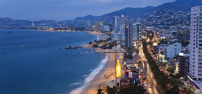 Тихоокеанский курорт Акапулько