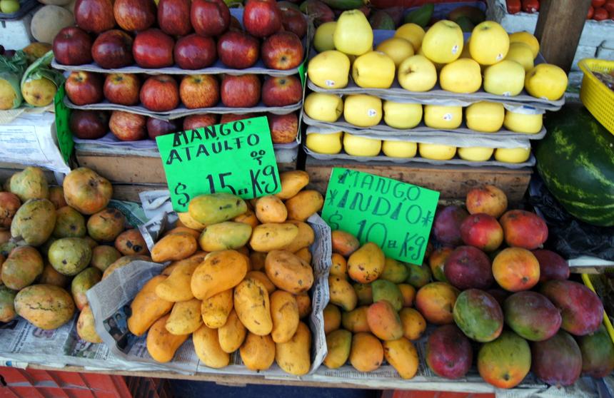 Фрукты в Мексике