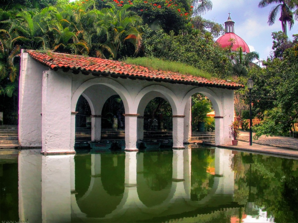 Ботанический сад Борда, Куэрнавака, Морелос, Мексика