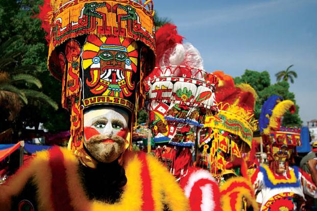 Карнавал в Куэнаваке, Мексика
