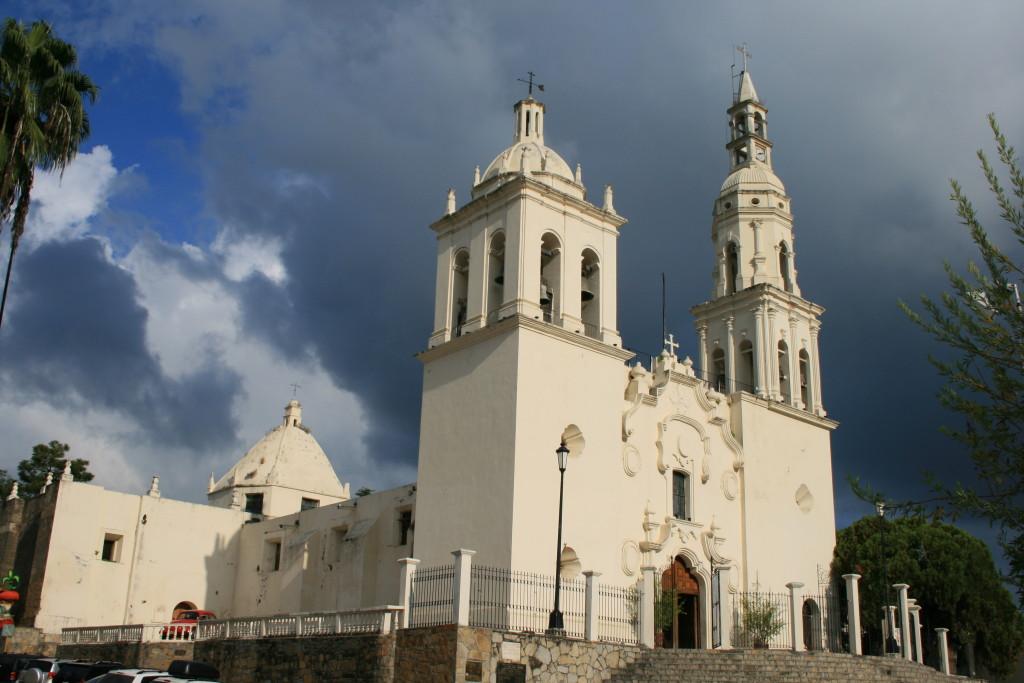 Кафедральный собор в Вийя де Сантьяго. Нуэво Леон, Мексика
