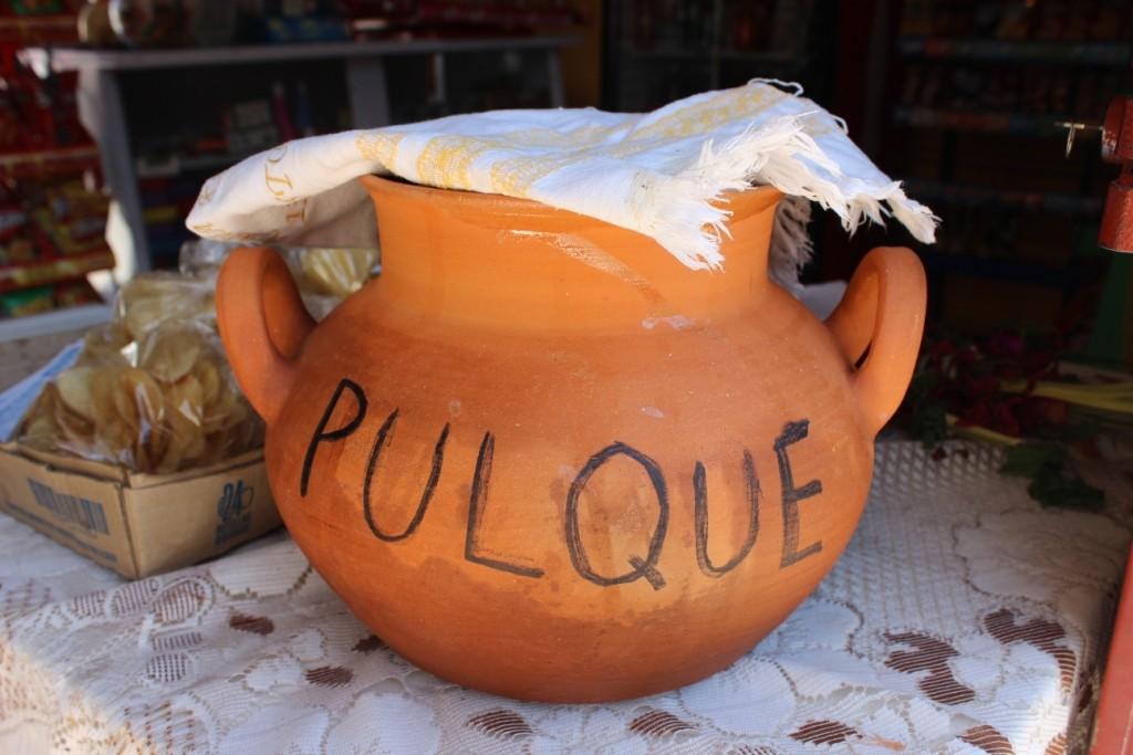 Пульке - агавовый самогон в Мексике