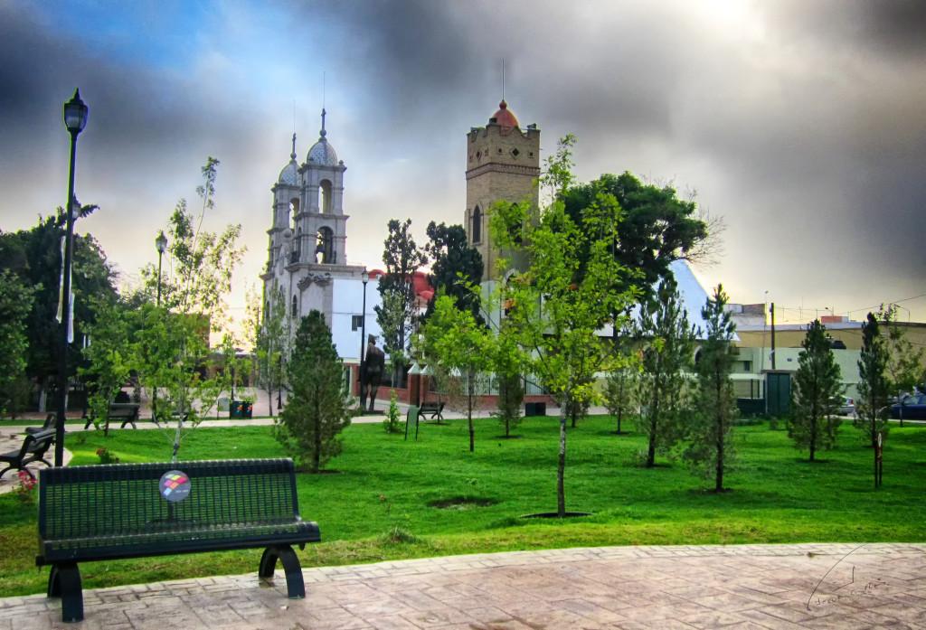 Площадь Атенео в Сальтильо, Мексика
