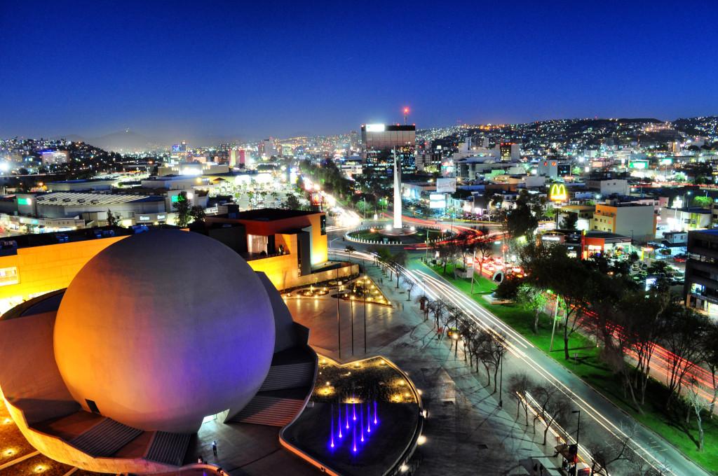 Центр города Тихуана. Мексика