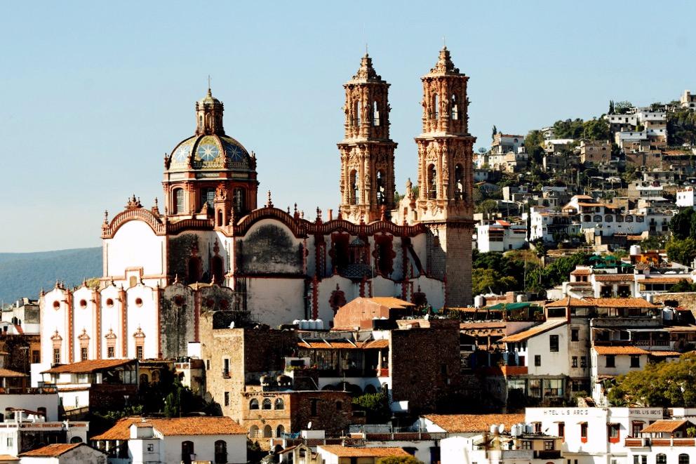 Серебряный город Таско и церковь Санта-Приска, штат Герреро
