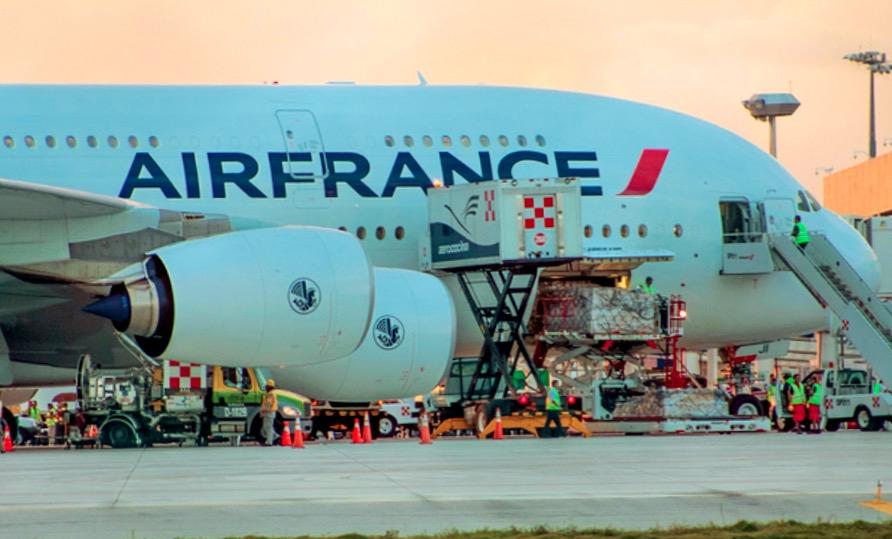 Эйр Франс в аэропорту Канкуна
