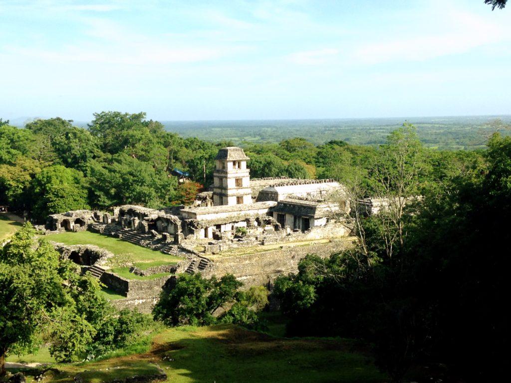 В мистическом городе Паленке сбываются все желания, стоит только загадать, штат Чиапас