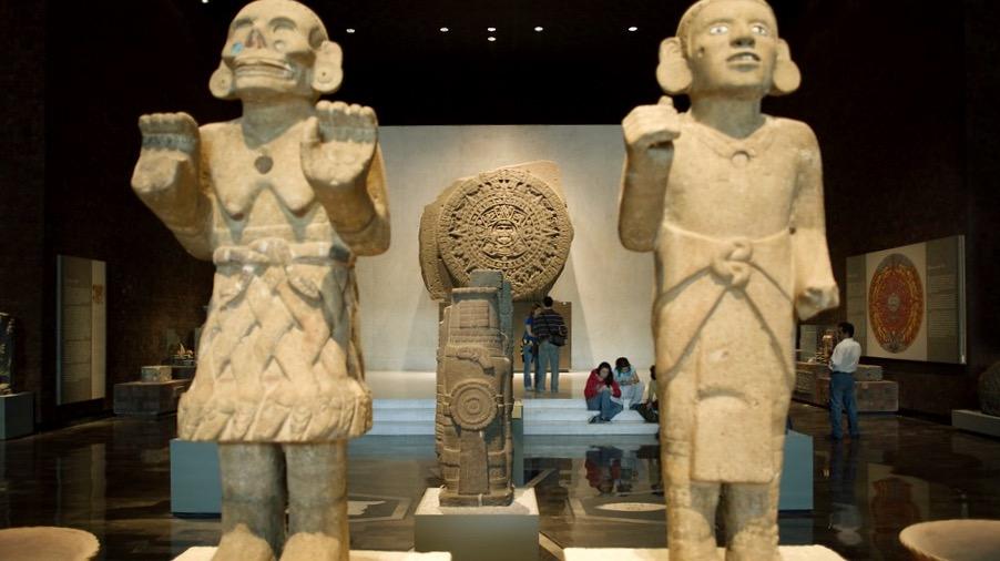 Культурное наследие Мексики в Национальном Музее Антропологии
