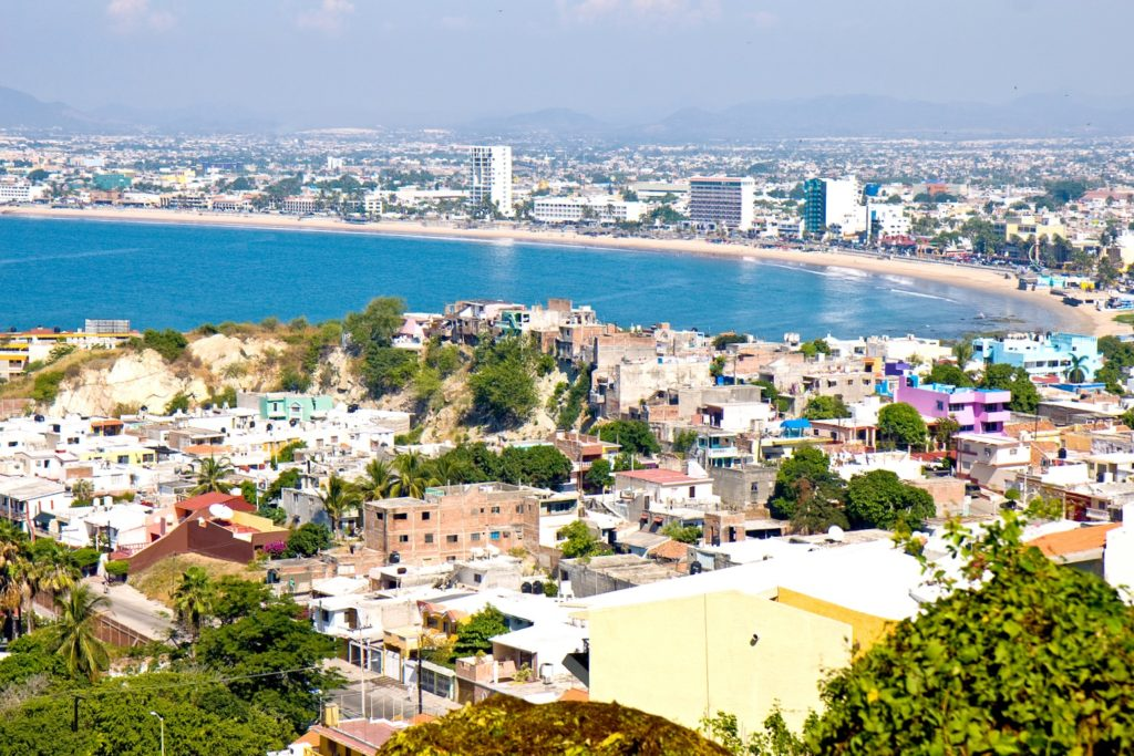 Курортный город Масатлан на Тихоокеанском побережье, Мексика