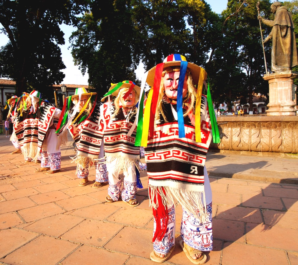 Ла данса де лос Виехитос или Танец старичков, штат Мичоакан, Мексика
