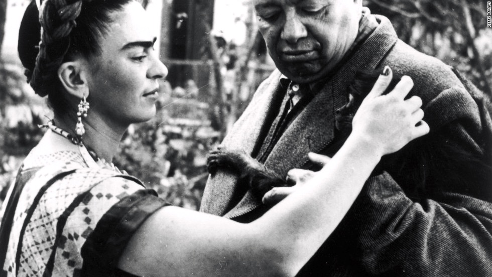 Единственная любовь Фриды Кало это не менее знаменитый художник Диего Ривера, Мексика