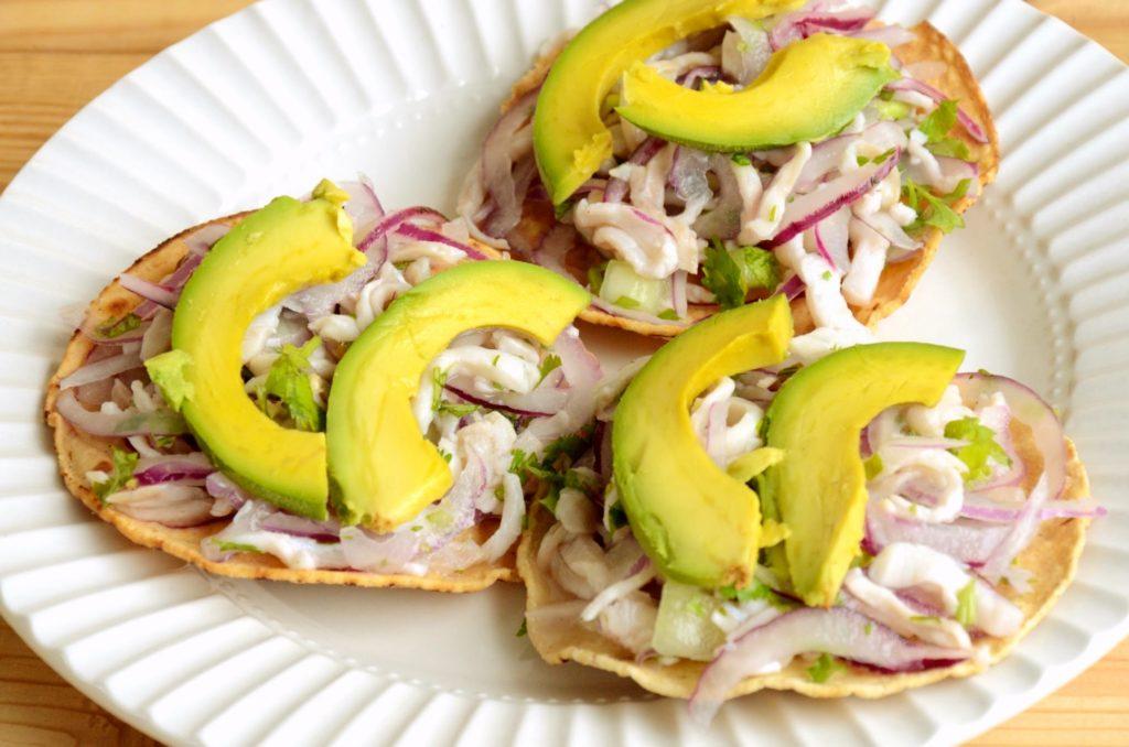 Местное мексиканское блюдо Тиритас де Пескадо, Вентура, штат Герреро