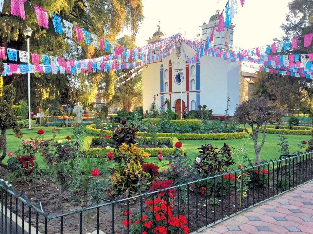 Парк перед Храмом в Туле