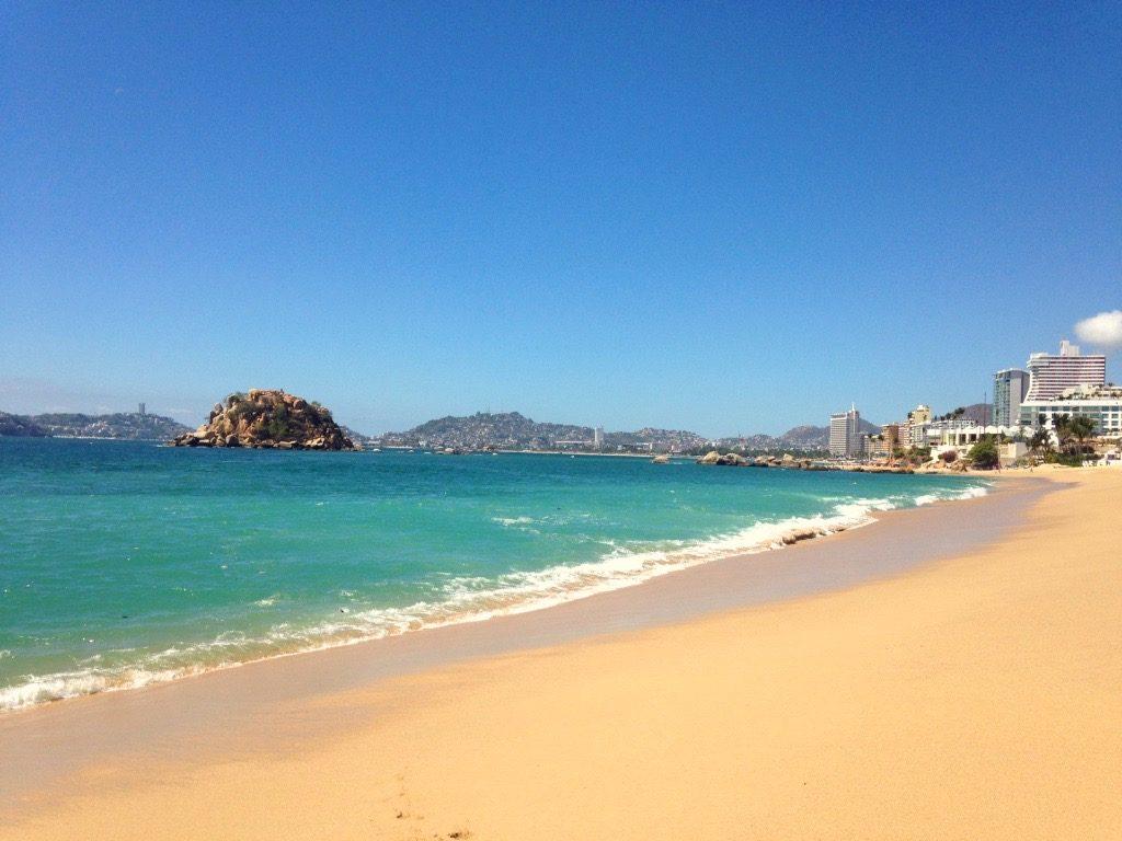 Пляж Кондеса в Акапулько