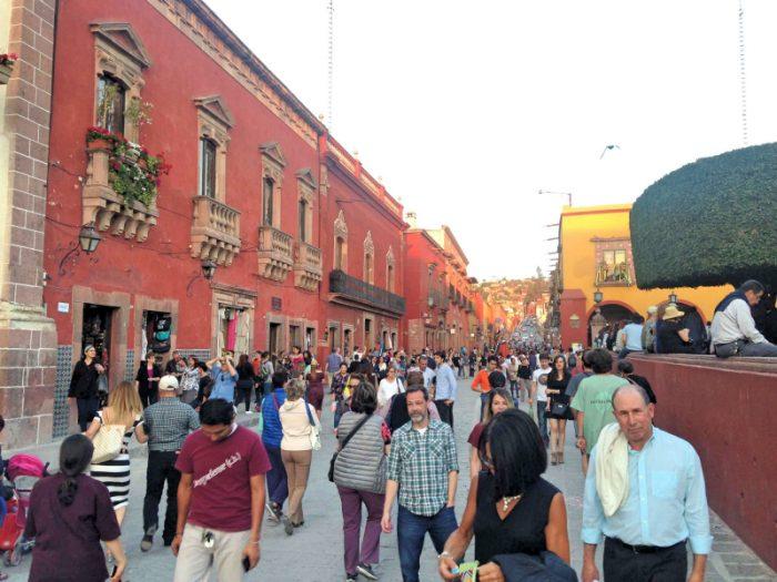 Многолюдный исторический центр города