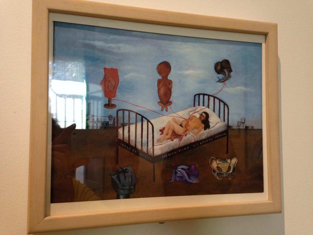 """Картина Фриды Кало """"Жизнь и смерть"""""""