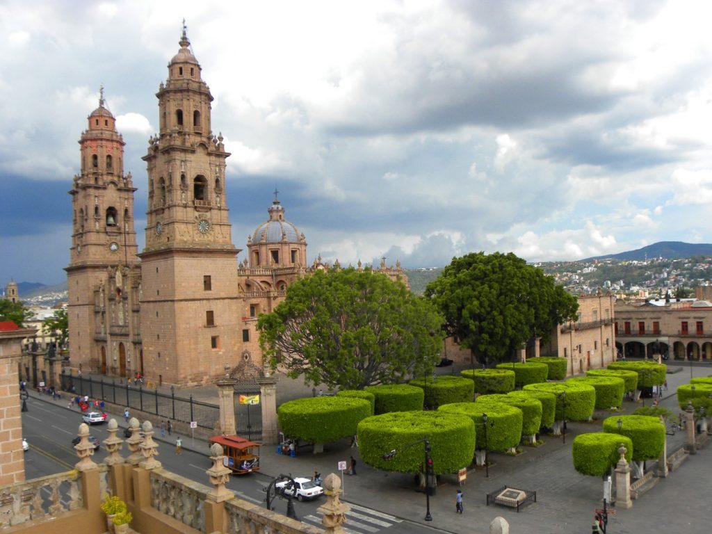 Кафедральный собор Морелии, штат Мичоакан