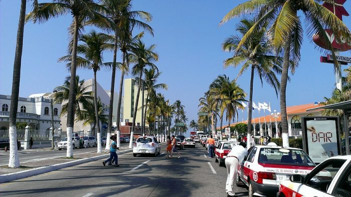 Курортная зона города Веракрус