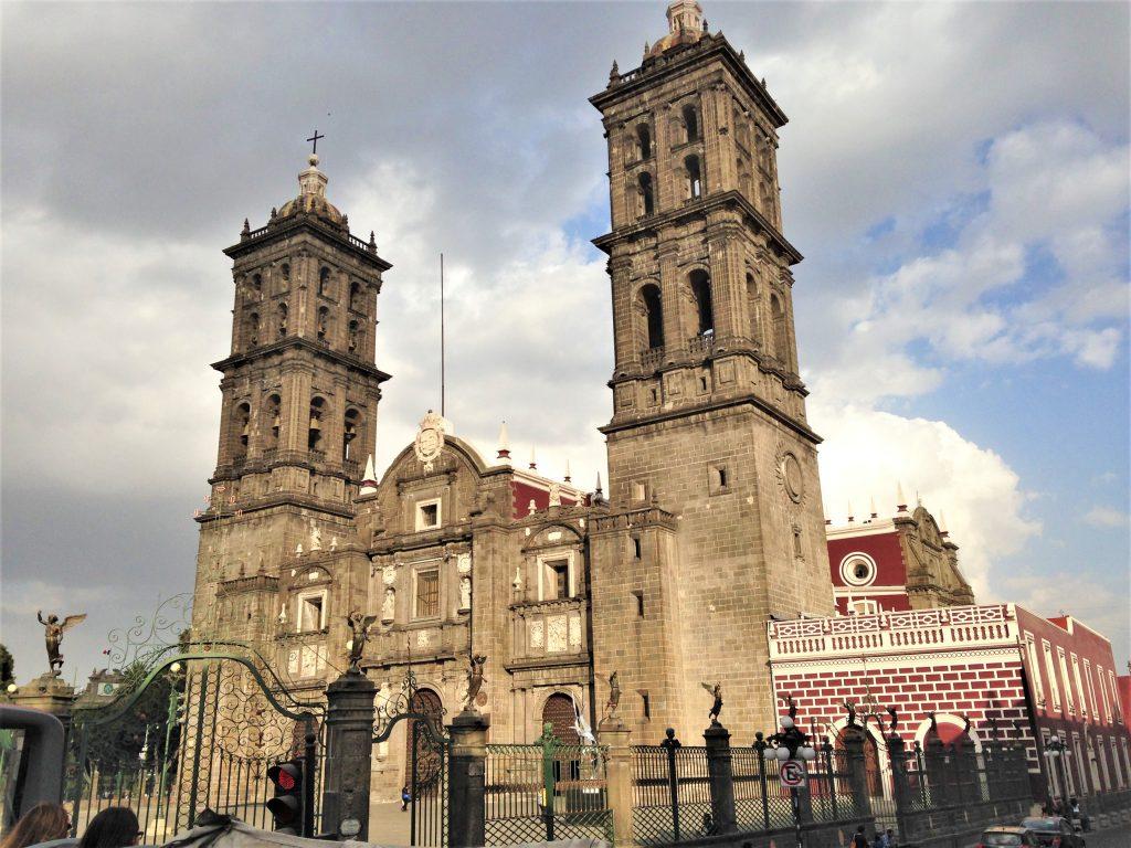 Кафедральный собор города Пуэбла