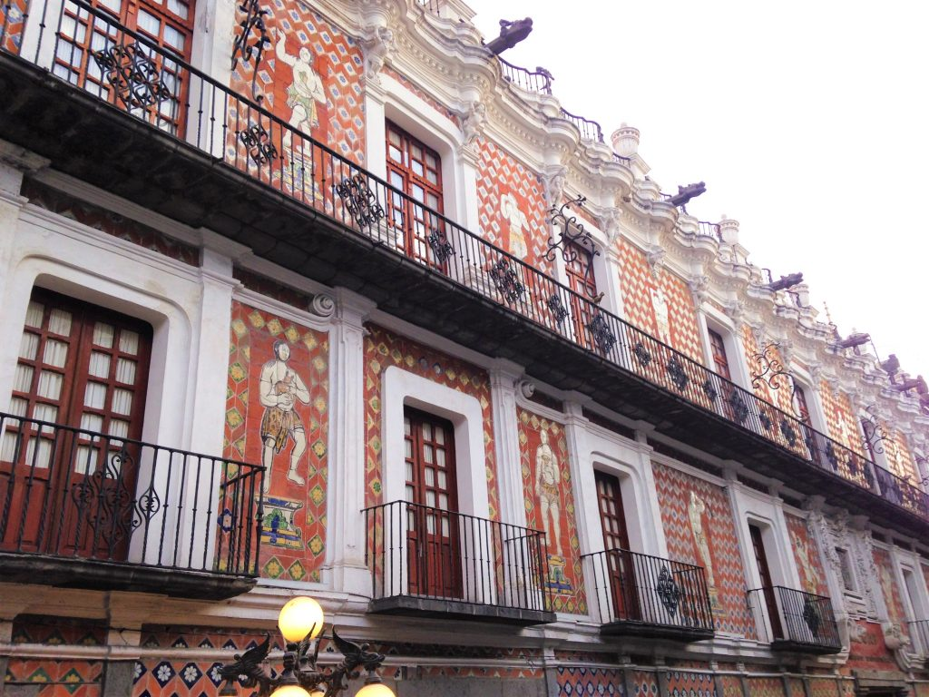 Уникальная архитектура города Пуэбла