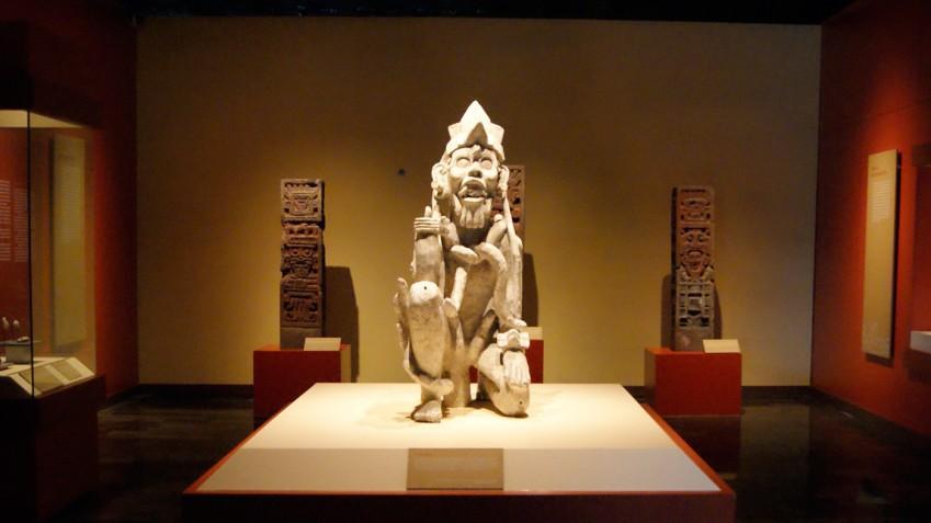 Скульптуры ацтеков