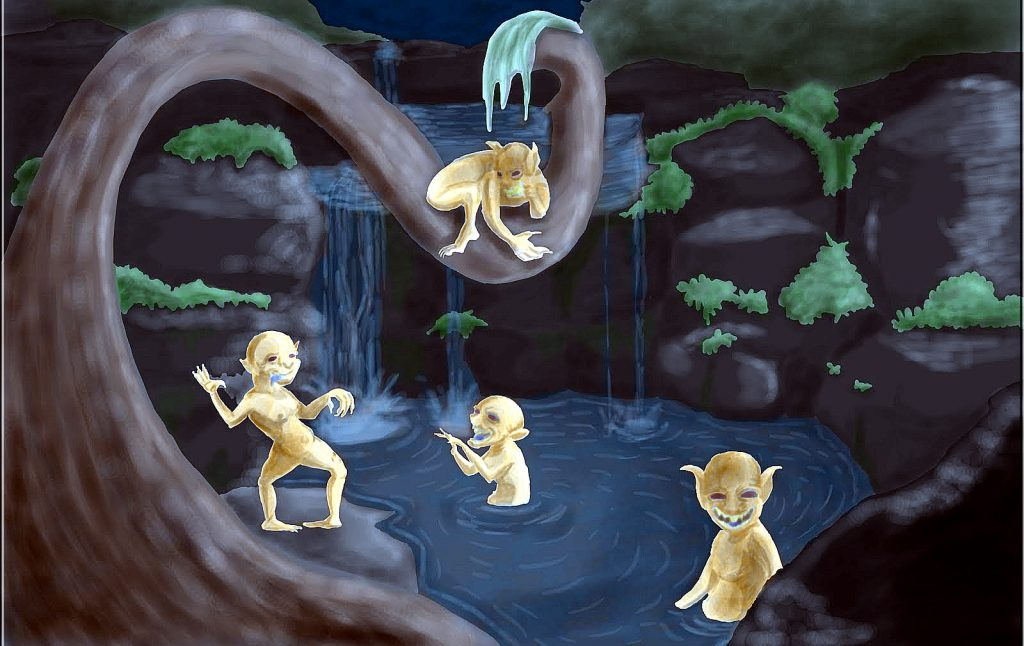 В легендах майя чалель – недобрый дух, неразрывно связанный с человеческим телом.