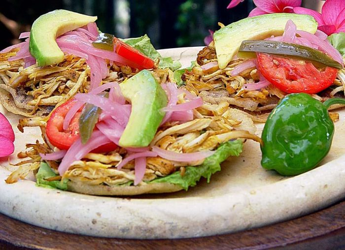 Традиционная закуска штата Юкатан.