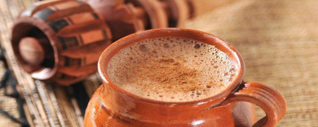 Таскалате, индейский напиток из штата Чьяпас.