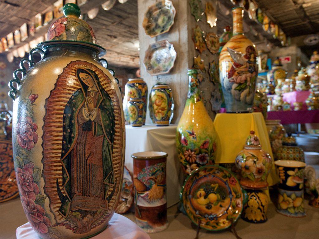 глиняные изделия штат Морелос