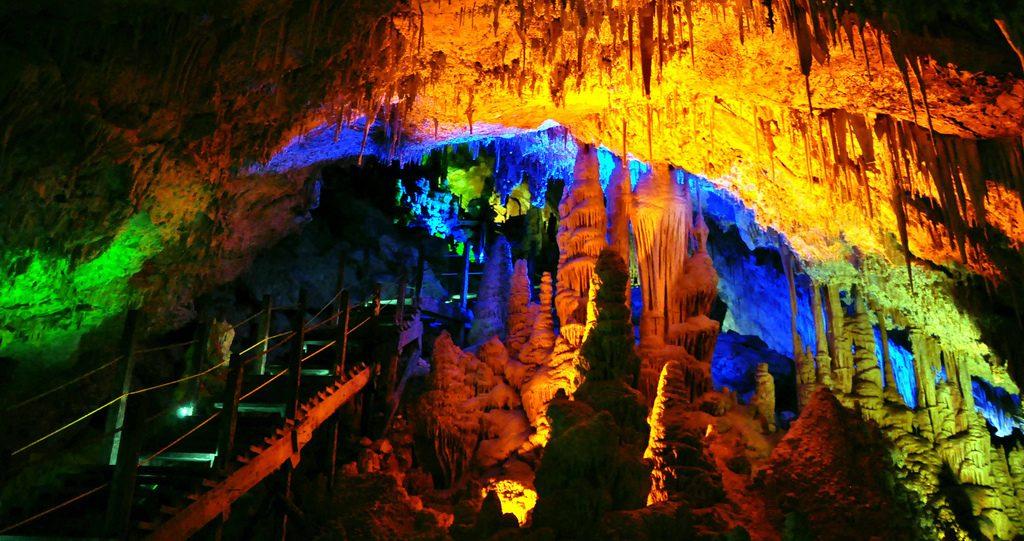 Пещеры в Мапими, штат Дуранго.