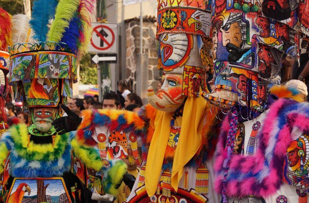 ремесла штата Морелос, карнавальные маски