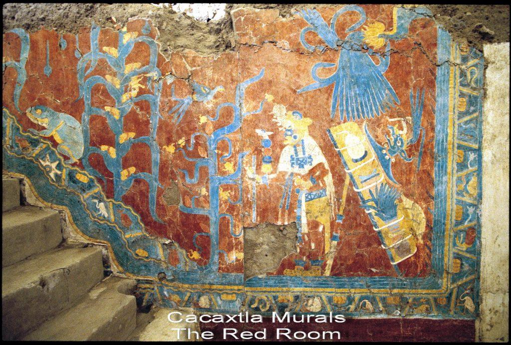 Какаштла, Cacaxtla — зона археологических раскопок на юге мексиканского штата Тлашкала.