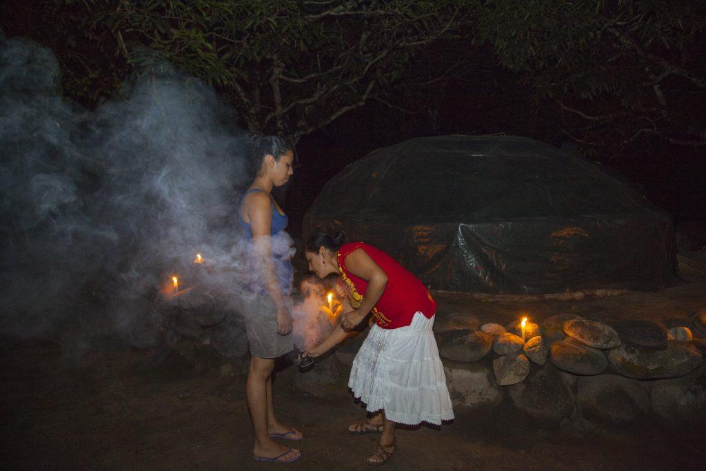 Закрытие родов - баня Темаскаль
