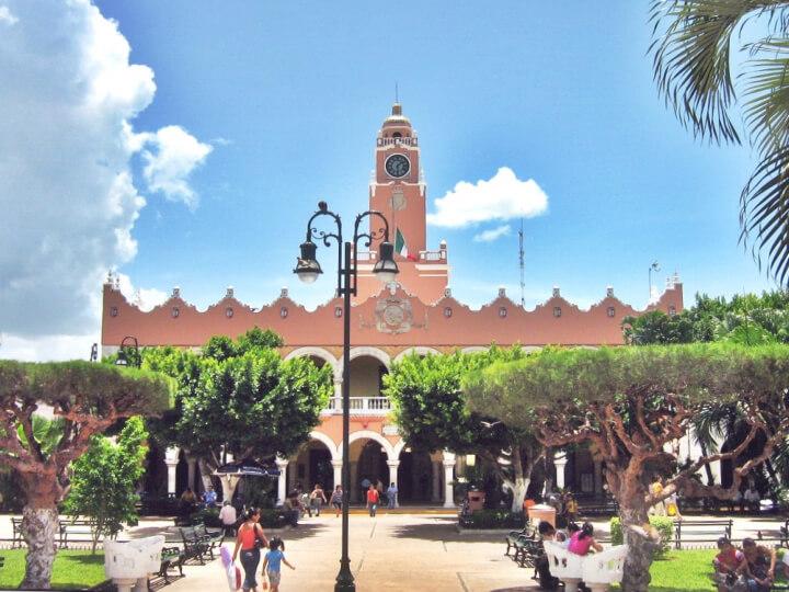 Мерида - столица Юкатана, Мексика